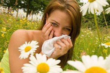 аллергия на цветы
