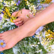 ноги и травы