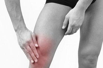 Опухоль над коленной чашечкой